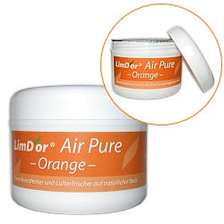 limdor air pure orange geruchsentferner nat rlich umweltfreundlich ungiftig. Black Bedroom Furniture Sets. Home Design Ideas